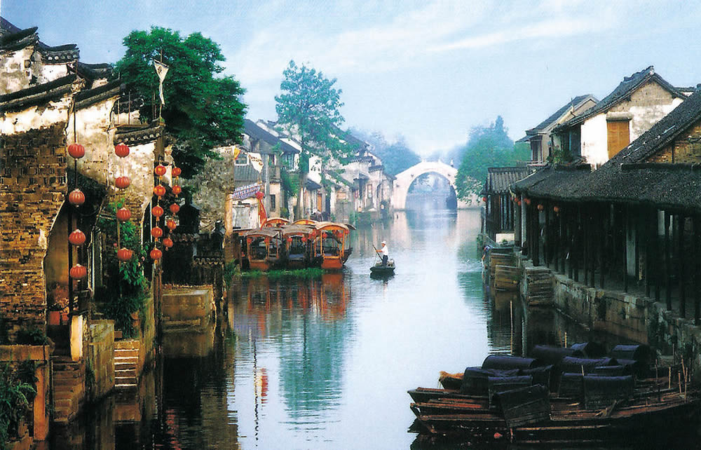 Xitang Ancient Town China  city pictures gallery : Xitang Water Town Travel China with Me