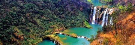 Luoping Nine-Dragon (Jiulong) Waterfalls