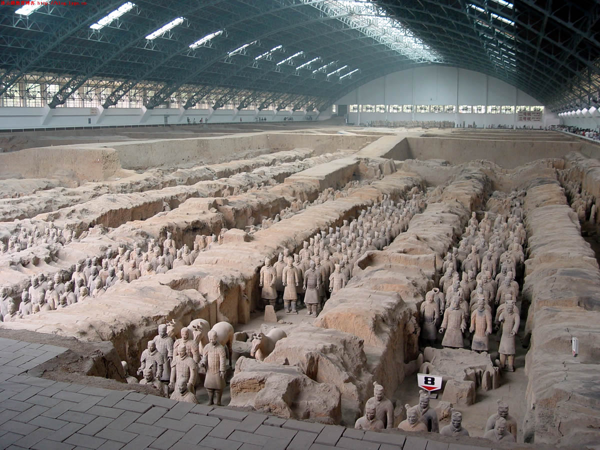 Museum of qin terracotta warriors and horses travel